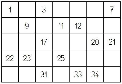 voici au format pdf quatre grilles diffrentes et les numros pour le tirage jusqu 35 seulement nous sommes tout de mme en grande section